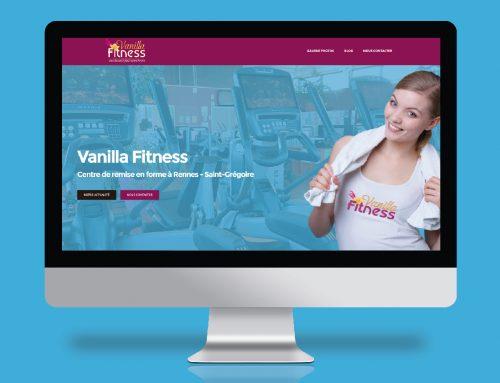 Nouveau Site Internet Vanilla Fitness